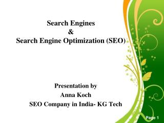 Basics of SEO Tutorial - SEO Company in India