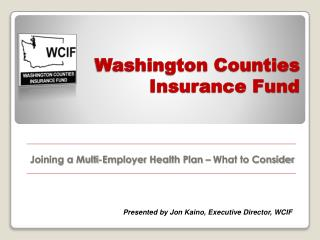 Washington Counties Insurance Fund