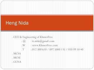 Heng Nida