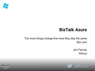 BizTalk Azure