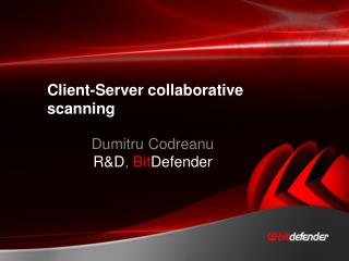 Client-Server collaborative scanning