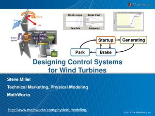 Designing Control  Systems for  Wind  Turbines