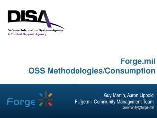 Forge.mil OSS Methodologies/Consumption