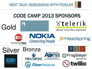 Code Camp 2013 Sponsors
