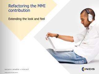 Refactoring the MMI contribution