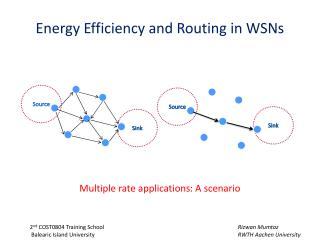 Energy Efficiency and Routing  in  WSNs