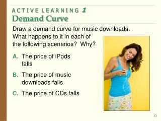 A C T I V E  L E A R N I N G   1 Demand Curve