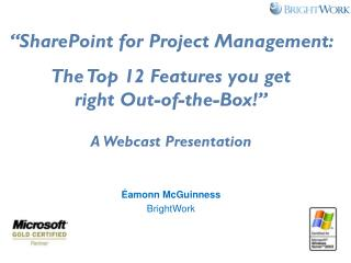 SharePoint For Project Management:Top 12 Features