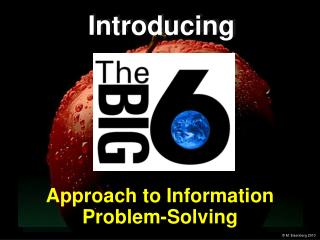 Approach to Information Problem-Solving