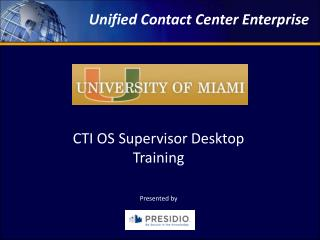 Unified Contact Center Enterprise