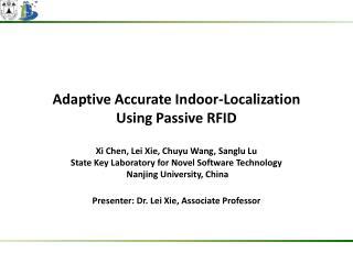 Adaptive Accurate Indoor-Localization  Using  Passive  RFID