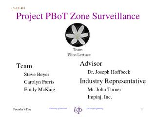 Project  PBoT  Zone Surveillance
