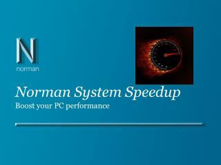 Norman System Speedup