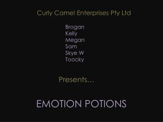 EMOTION POTIONS