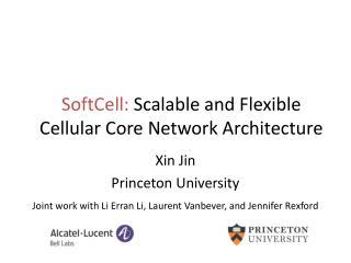 Xin Jin Princeton University