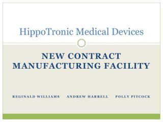 HippoTronic Medical Devices