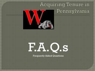 Acquiring Tenure in Pennsylvania
