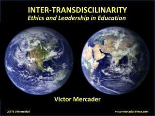 INTER-TRANSDISCILINARITY
