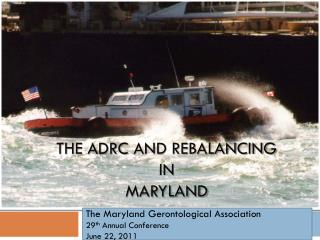 The  Adrc AND Rebalancing  in  Maryland