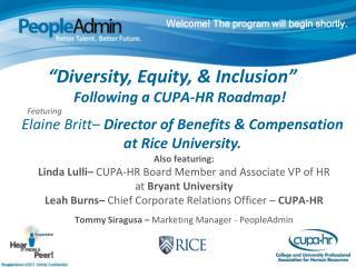 Following a CUPA-HR Roadmap!
