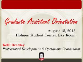 Graduate Assistant Orientation