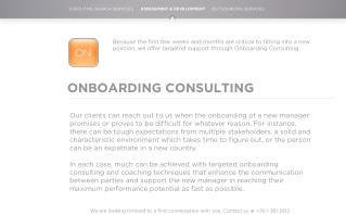 ONBOARDING CONSULTING