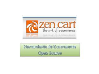 Herramienta  de E-commerce Open Source