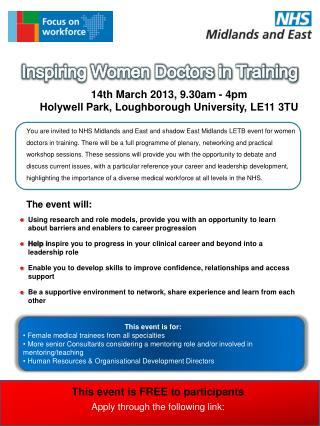 Inspiring Women Doctors in Training