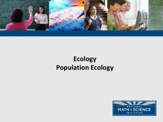Ecology Population Ecology