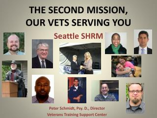 THE SECOND MISSION, OUR VETS SERVING YOU