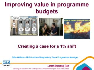 Siân Williams NHS London Respiratory Team Programme Manager