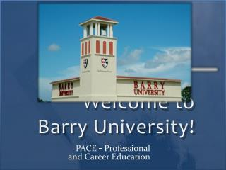 Welcome to Barry University!
