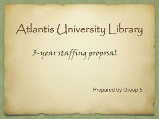 Atlantis University Library