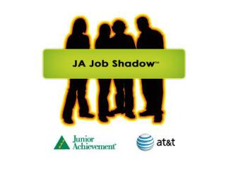 Why job shadow