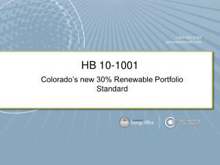 HB 10-1001