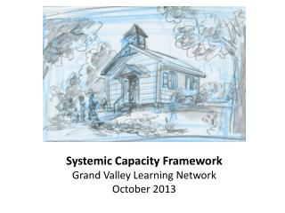 Systemic Capacity Framework Grand Valley Learning Network October 2013