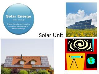 Solar Unit