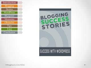Two hottest topics on the internet: Blogging and WordPress. Emergence  and growth of blogs –  late 1990s WordPress hit