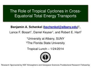 Benjamin A. Schenkel ( bschenkel@albany.edu ) 1 , Lance F. Bosart 1 ,  Daniel Keyser 1 , and  Robert E. Hart 2 1 Univer