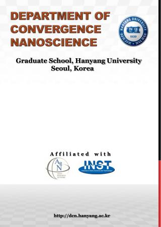 Department of convergence  nanoscience
