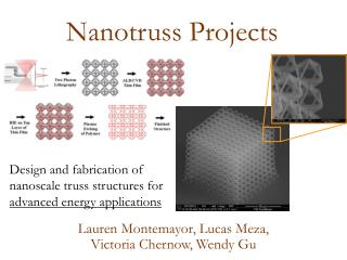 Nanotruss  Projects