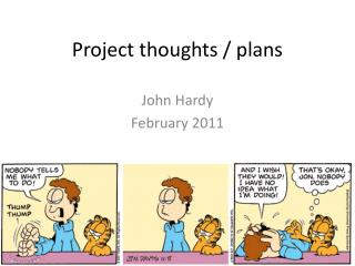 Project thoughts / plans
