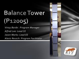 Balance Tower (P12005)