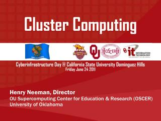 Cyberinfrastructure Day @ California State University Dominguez Hills Friday June 24 2011