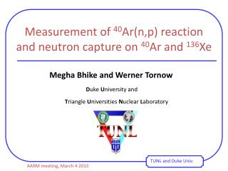 Measurement of  40 Ar( n,p ) reaction and neutron capture on  40 Ar and  136 Xe