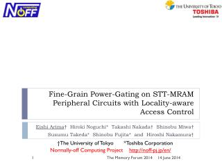 Fine-Grain Power-Gating on  STT-MRAM Peripheral Circuits with Locality-aware Access Control