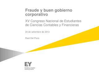 Fraude  y  buen gobierno corporativo