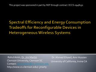 Spectral Efficiency and Energy Consumption Tradeoffs for Reconfigurable Devices in Heterogeneous Wireless Systems