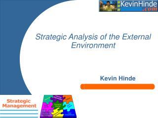 strategic analysis of the external environment