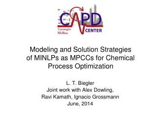 Modeling and Solution Strategies of MINLPs as MPCCs for Chemical Process Optimization